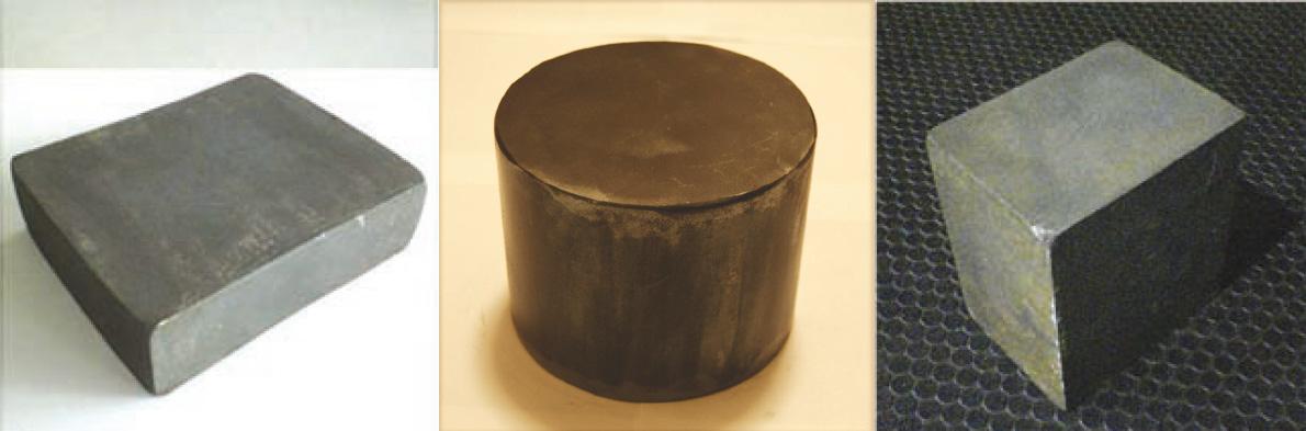 クロス鍛造材の一例