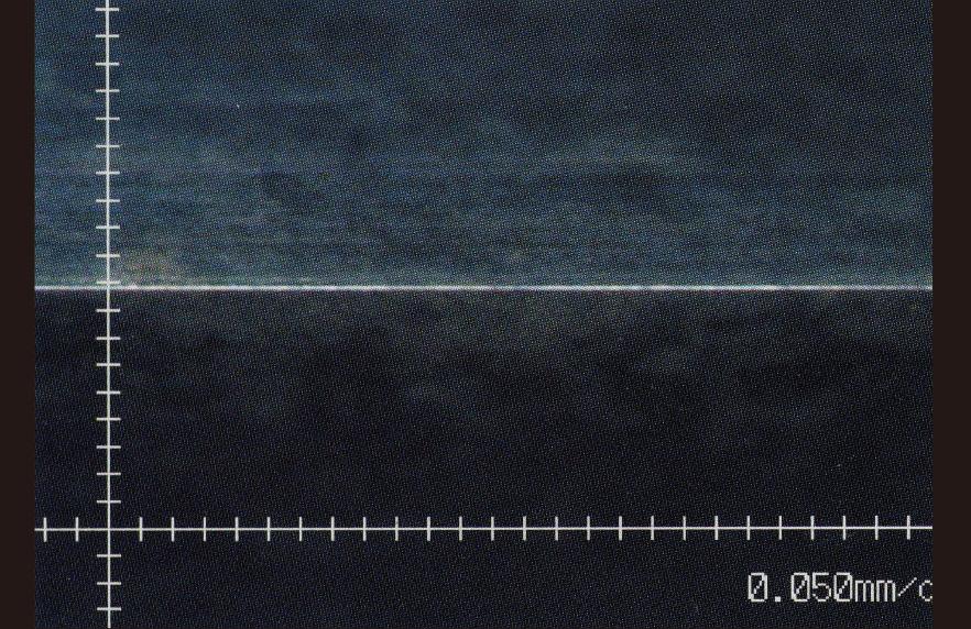 エッジ拡大図(マイクロスコープ )