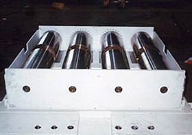 2. Bearing device for bridge / Roller&Bearing plate Example of product02