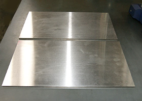 Precision plate Example of product