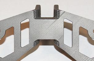 粉末積層造形品の一例